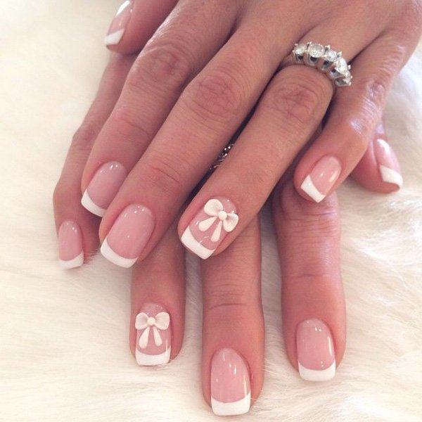 10 easy french manicure designs add a twist to your finger tips fm1 prinsesfo Gallery